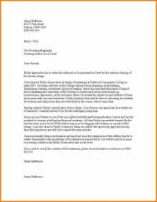 character letter for court best business template within