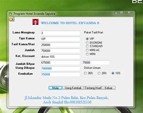 membuat aplikasi ios sederhana membuat aplikasi transaksi hotel sederhana di vb jago