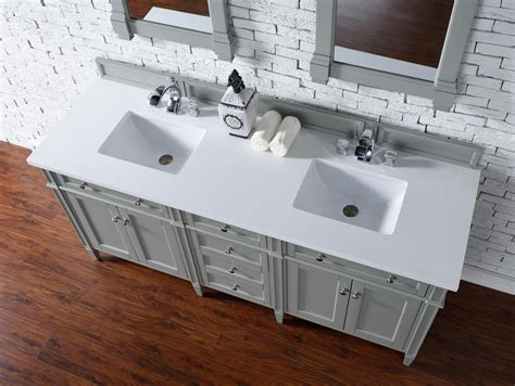 bathroom vanity cabinet no top james martin brittany collection 72 quot double vanity urban gray
