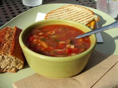 Review Panera Bread Soup The Spiffy Cookie Garden Vegetable Soup Panera