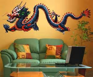 Dragon Wall Mural Cool Dragon Wall Stickers To Fire Up Your Wall Decor