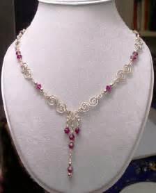 Handmade Birthstone Jewelry - handmade jewelry gemstone necklaces silver wire wrapped