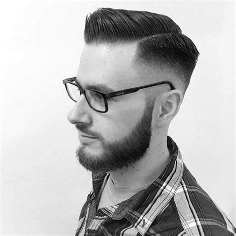 Comb Fade Hairstyle by Skin Fade Haircut For 75 Sharp Masculine Styles