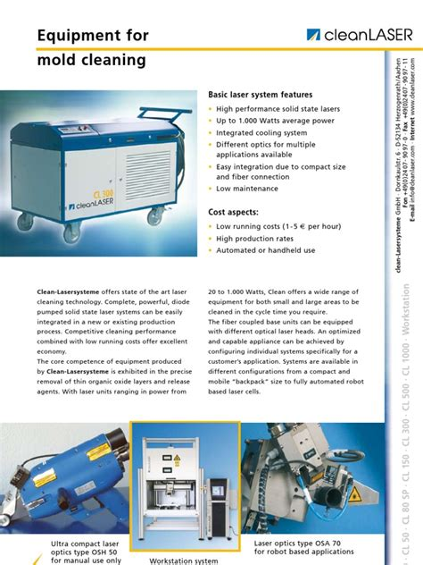 laser safety management optical science and engineering books clean laser systems for mold cleaning laser