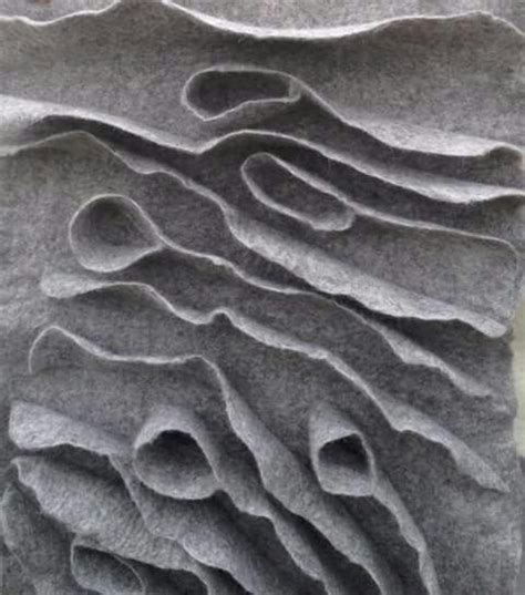 Textile Surface Manipulation 17 best images about nuno felting on wool