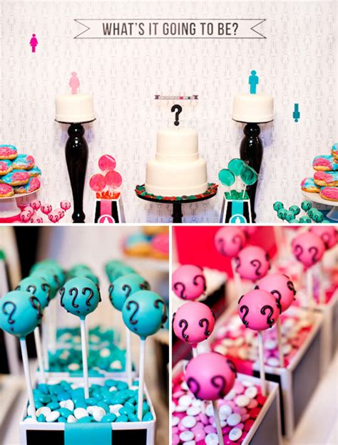 Gender Reveal Decorations by Gender Reveal Partyideasbynancy