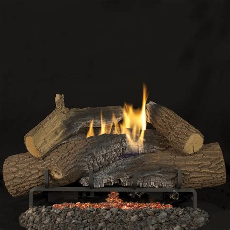 superior fireplaces 30 inch rugged stack gas logs with