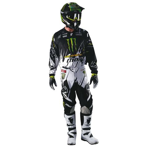 motocross gear monster energy thor 2013 phase s13 youth pro circuit monster energy