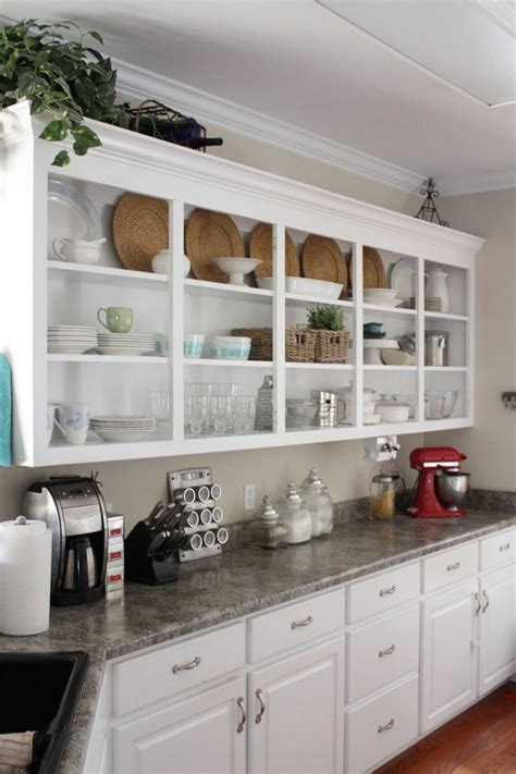 kitchen shelving ideas open shelving kitchen design ideas decor around the