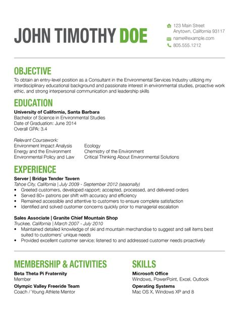 resumes with color resume ideas