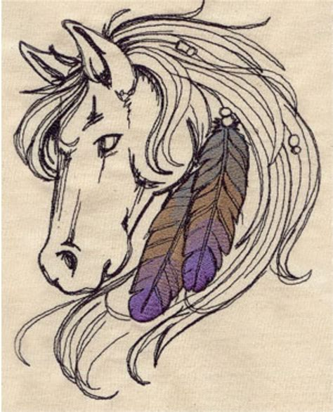 tattoo flash embroidery 50 best horse coloring pages images on pinterest horse