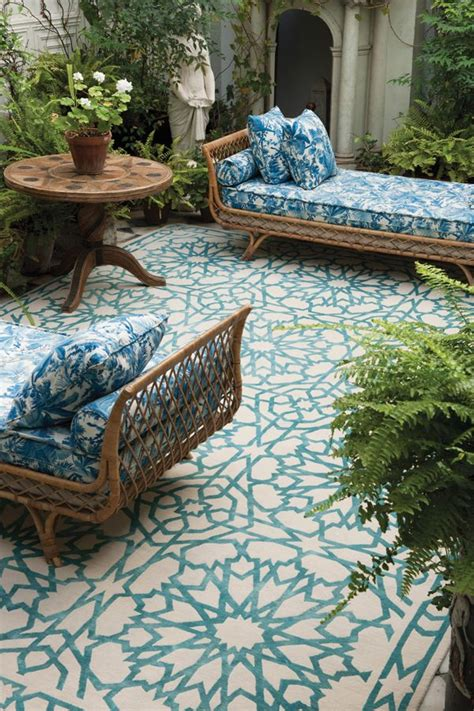 Outdoor Patio Rug Outdoor Rugs For A Cozy Patio My Blue Flamingo