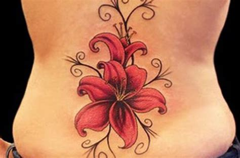 17 beautiful lower back tattoos ideas fonts for