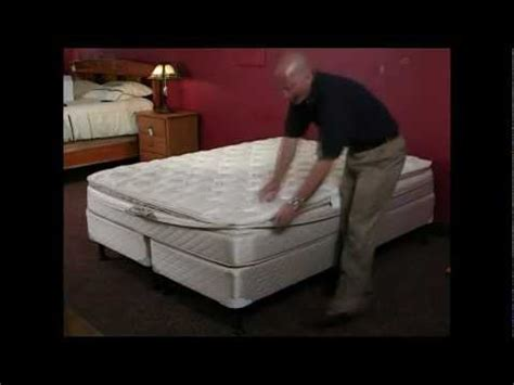 innomax air bed instructional assembly video  softside