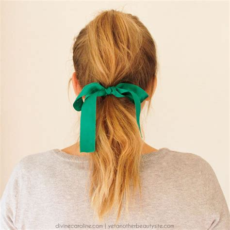 ribbon hairstyles 3 hairstyles featuring hair ribbons more