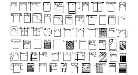 dwg libreria librer 237 as de bloques autocad camas dobles en planta