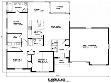 Ontario House Plans by Canadian House Plans Canadian Home Designs Bungalow House