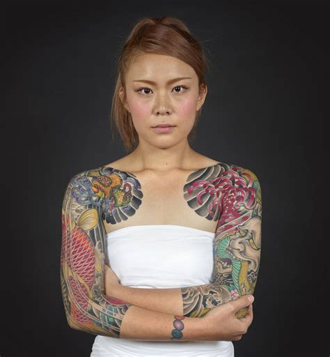 tattooed asian girl loved abroad hated at home the of japanese tattooing