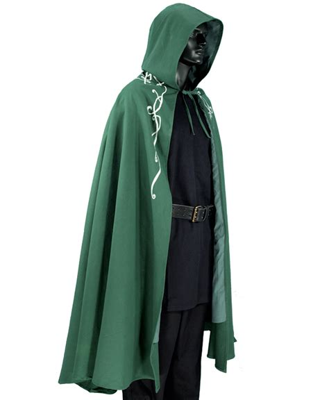 Elvish Home Decor embroidered elven cloak garbgeek com