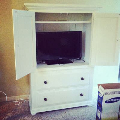 Tv Armoire Makeover by Armoire Makeover Master Bedroom Progress Report Erin