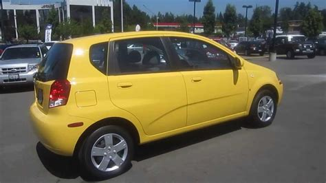how to work on cars 2008 chevrolet aveo electronic throttle control 2008 chevrolet aveo summer yellow stock k1311481 walk around youtube
