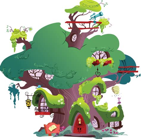Crazy Houses mlp fim library vector by daafroman on deviantart