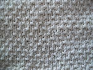 blog about knitting sand stitch