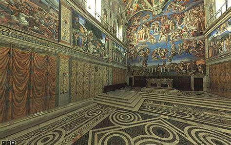 visitez la chapelle sixtine en