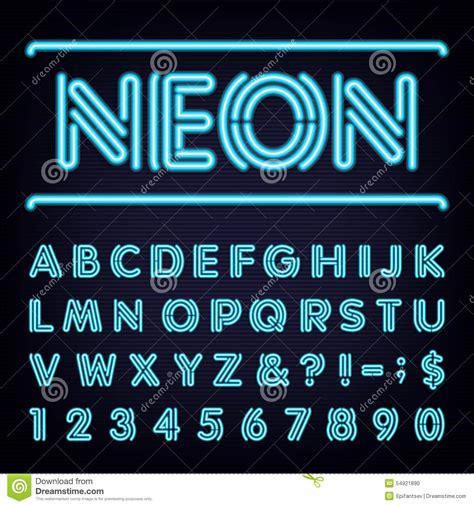 light font neon light font www imgkid the image kid