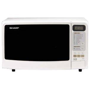 Microwave Sharp R 249 In sharp r 249 white 800w microwave oven 220 volts 110220volts microwave oven 220 volts 50 hz