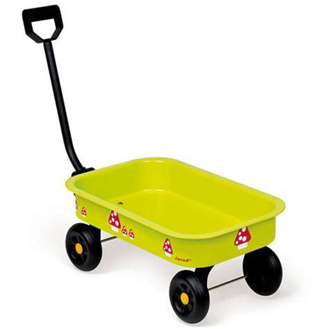 großer wagen kleiner wagen janod kleiner metallwagen gr 252 n f 252 r kinder handwagen ebay
