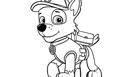 coloring pages nick jr characters nick jr coloring paw patrol paw patrol rocky colouring