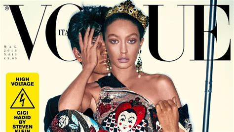 Magazine Apolgises For Photo Shoot Blunder by Gigi Hadid Apologizes Amidst Blackface Magazine Cover