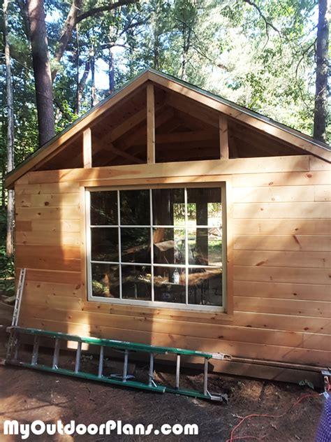 shed diy project myoutdoorplans