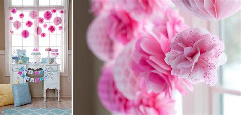 Swan Flower Tutu tissue glitter tulle flower poms from the swan princess