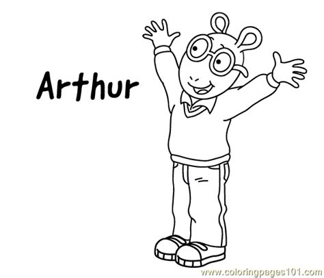 arthur coloring pages online coloring pages arthur coloring2 cartoons gt arthur free