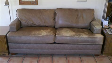 leather repairs for couches tucson s best furniture vinyl and leather repair company