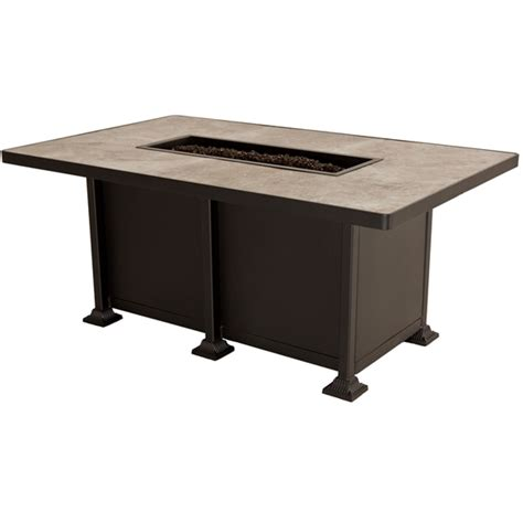 rectangle pit table ow vulsini rectangle chat height pit table 51 18a