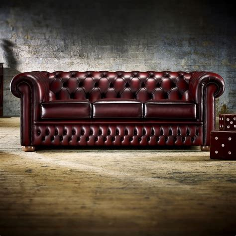 leather sofas chesterfield buy a 3 seater chesterfield sofa at timeless chesterfields