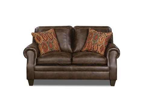 simmons harrison tobacco sofa simmons jayden loveseat shiloh tobacco