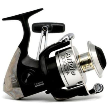 shimano alivio 10000fa front drag spinning reel
