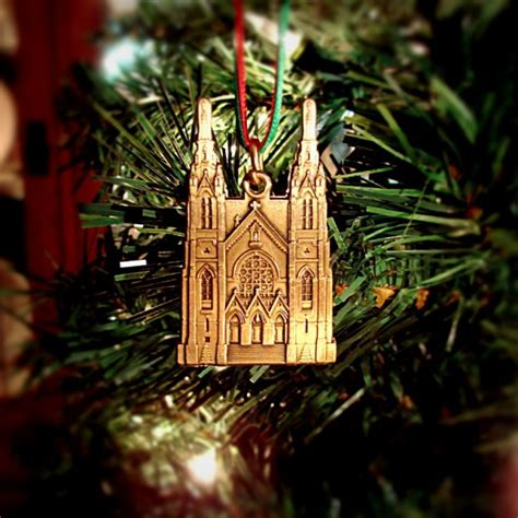 roanoke catholic christmas ornament andrew s catholic church ornament virginia ornament company