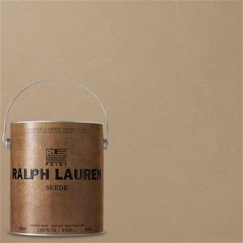 ralph lauren depot ralph 1 gal spitfire suede specialty finish interior paint su132 the home depot