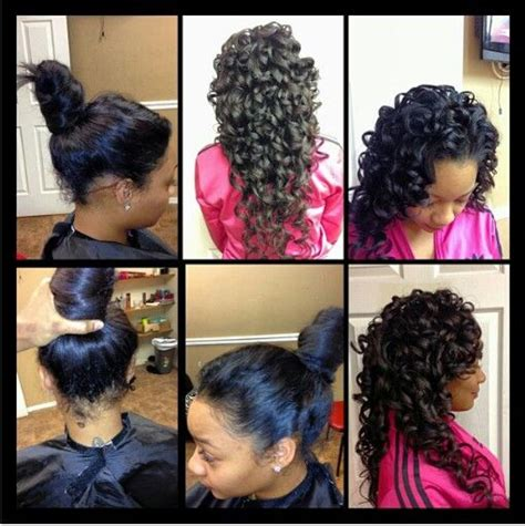 how to do versatile sew ins gorgeous sew in curls very versatile style it