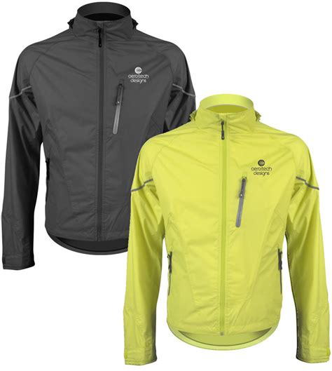 Aero Tech Waterproof Breathable And Windproof Cycle Jacket