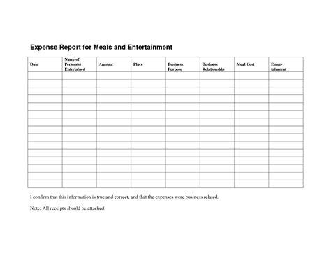 expense reimbursement form template it resume cover