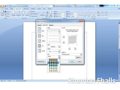 cara membuat undangan di word 2003 cara membuat bingkai di microsoft word 2007 2010 2013