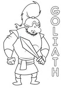 david and goliath coloring page david goliath printable coloring pages
