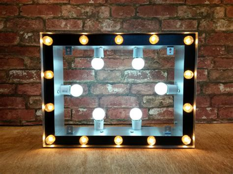 large cinema light box marquee cinema light box