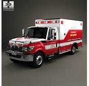 International TerraStar Ambulance Truck 2010 3D Model